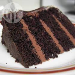 Dark Chocolate Cake @ allrecipes.com.au