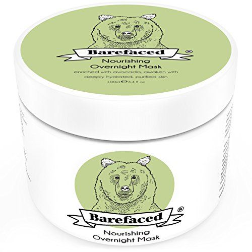 BeBarefaced Overnight Avocado Moisturising Face Mask. Say good night to dry skin with this nourishing overnight mask. Naturally formulated to hydrate dull skin, helping to rebuild moisture levels for tomorrow. Suitable for those looking to diminish the appearance of premature ageing, reduce dryness and relieve irritation.