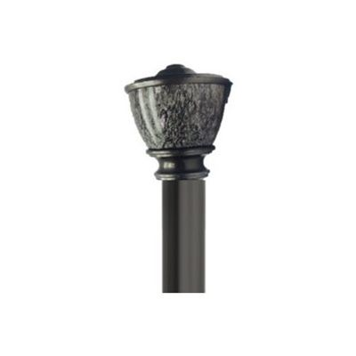 shop umbra ltd umbra ar to pewter steel curved curtain rod at loweu0027s canada find our selection of curtain rods at the lowest price guaranteed with price