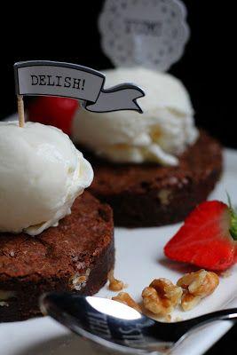 Kakkuviikarin vispailuja!: Saksanpähkinäbrownie