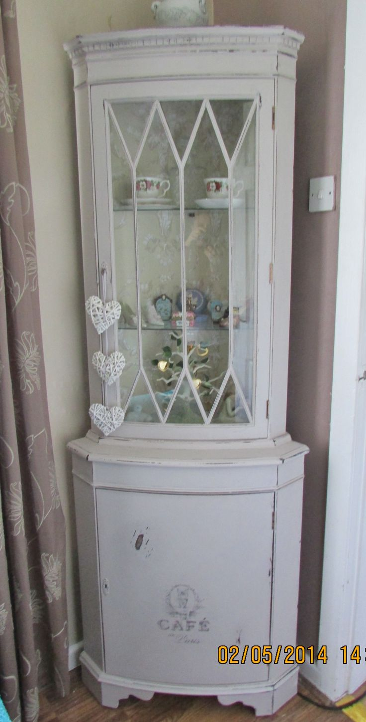 Hutch Makeover Chalk Paint French Country