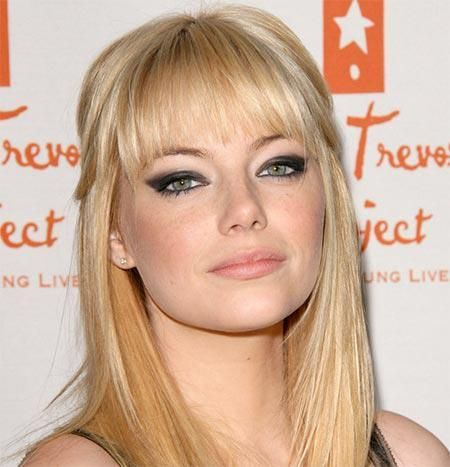 Smokey cat eye - Emma Stone
