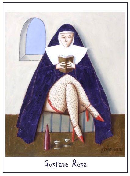 Clube de leitores: a-ver-livros: era uma vez uma freira e Gustavo Rosa