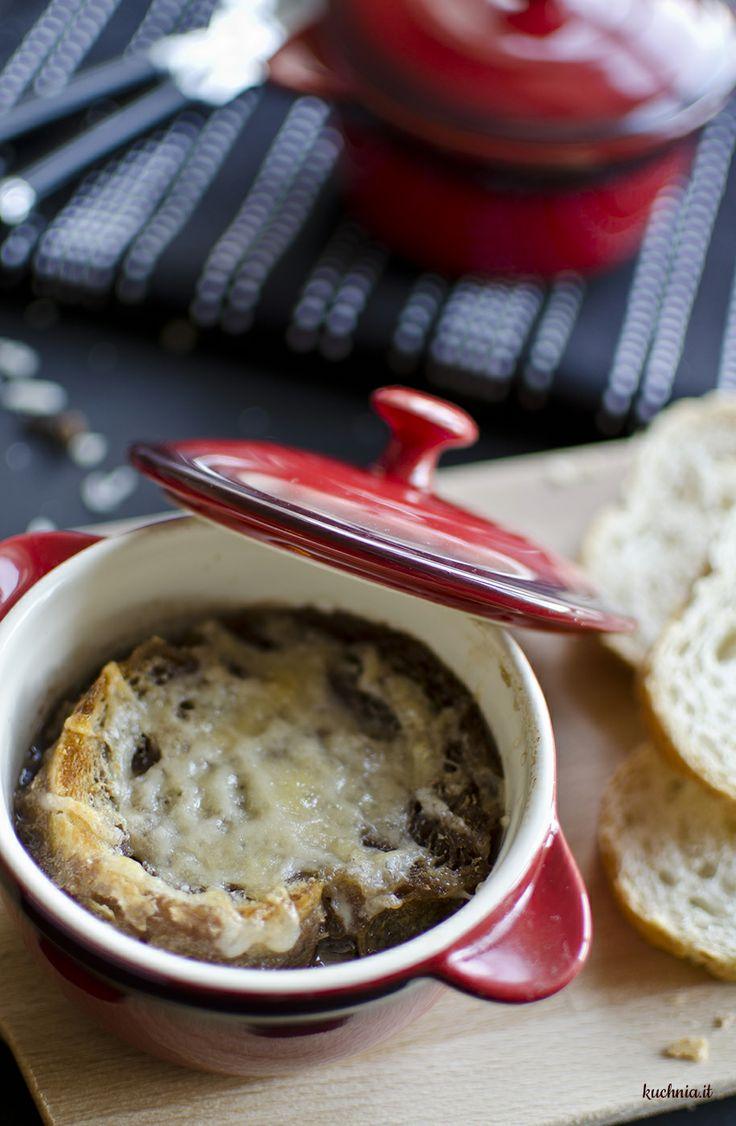 Carabaccia - włoska zupa cebulowa