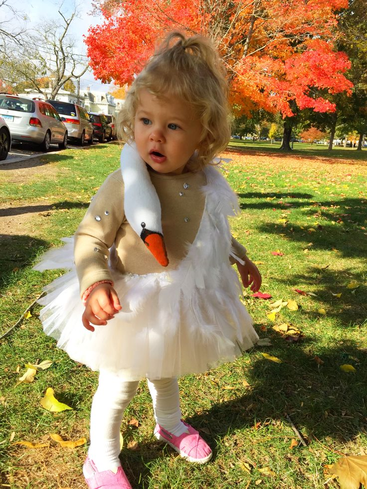 Minka, Bjork oscars swan dress toddler costume, Tova's Vintage Shop
