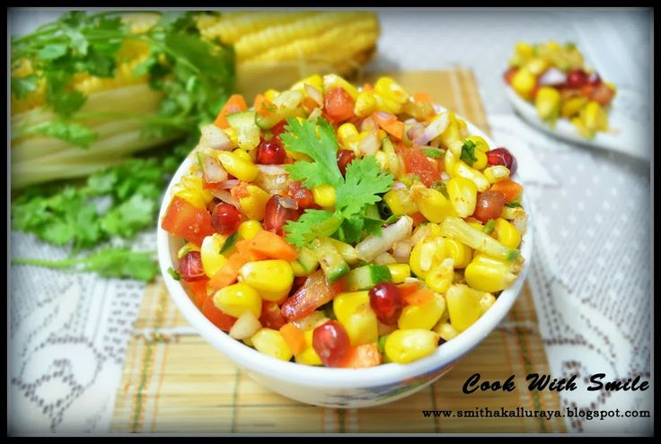 CORN CHAAT, CORN SALAD