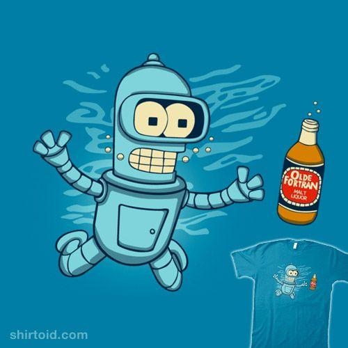 Nebeermind | Shirtoid #bender #film #futurama #melonseta #movie #nevermind #nirvana #robot #tvshow