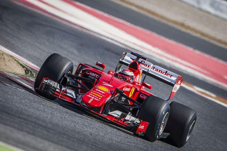 Kimi Raikkonen testing new 2017 Pirelli tyres (Ferrari) [3500x2333]