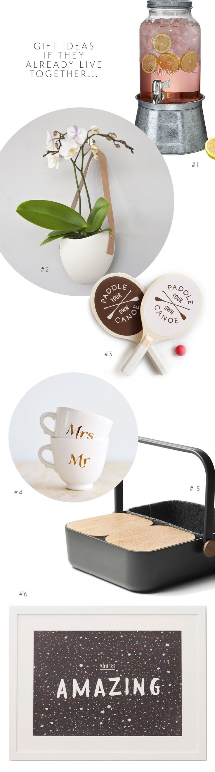 Wedding gifts for a couple that already lives together - The Ever After Story