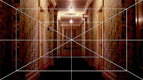 Kubrick One-point  perspective