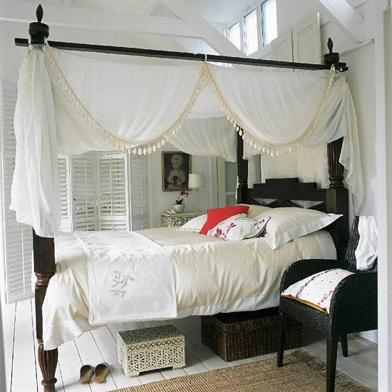 pleasant 4 poster bed frame. Black and white bedroom ideas 67 best Four Poster Bed images on Pinterest  Bedrooms Bedroom