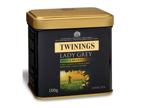 Another one of my favourite teas, Lady Grey by Twinings. It's like Earl Grey but a bit lighter and fruitier. A cup of this in the morning really lifts my spirits.