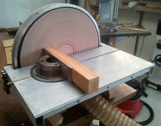 diy big disc sander from scrap materials diy power sanders. Black Bedroom Furniture Sets. Home Design Ideas