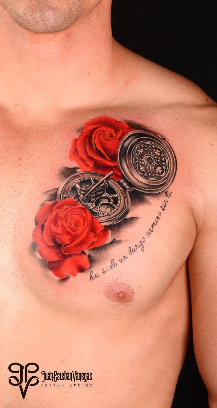Brujula y Rosas