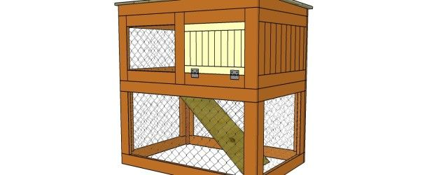 Best 25 outdoor rabbit hutch ideas on pinterest outdoor for How to build a rabbit hutch plans free
