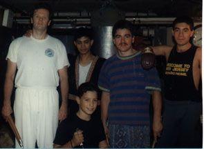 1st Yaw-Yan New Jersey group, blackbelt instructors from Jhoon Rhee TKD cross-training in Yaw-Yan [c. 1989].  Yaw-Yan Martial Arts USA, Sommerville, New Jersey.