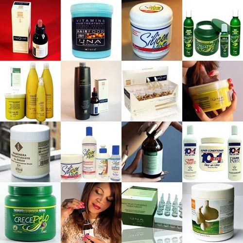 Dominican hair-care products and others used by Dominican women and in Dominican hair salons.