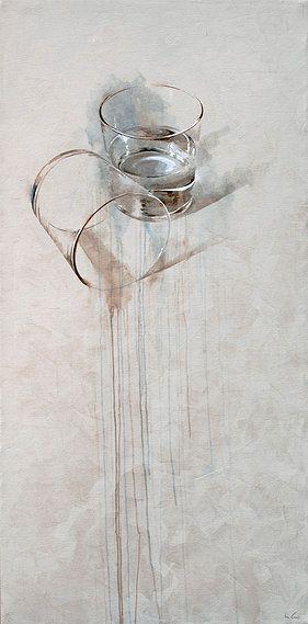 Dos vasos by Nono Garcia   mixta/lienzo mixed media/canvas
