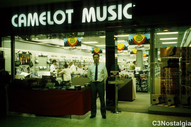 80's mall stores | Camelot Music - Century III | Flickr - Photo Sharing!
