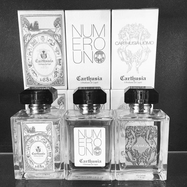 Carthusia Capri 1681, Numero Uno, Uomo ▪️ #rosinaperfumery #athens #mykonos #capri #nicheperfumes  #carthusia