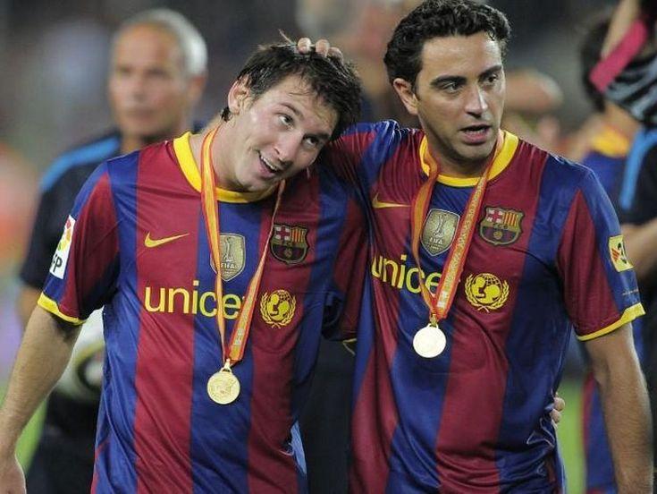 "La emotiva carta de Xavi a Messi: ""Gracias, Leo, maqui"""