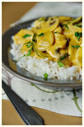 Chicken Stroganoff: Stroganoff Recipe, Dinners Tonight, Chicken Recipe, Cookthefood In, Easy Food, Beef Stroganoff, Chicken Stroganoff, Stroganoff Food, Pollo Stroganoff