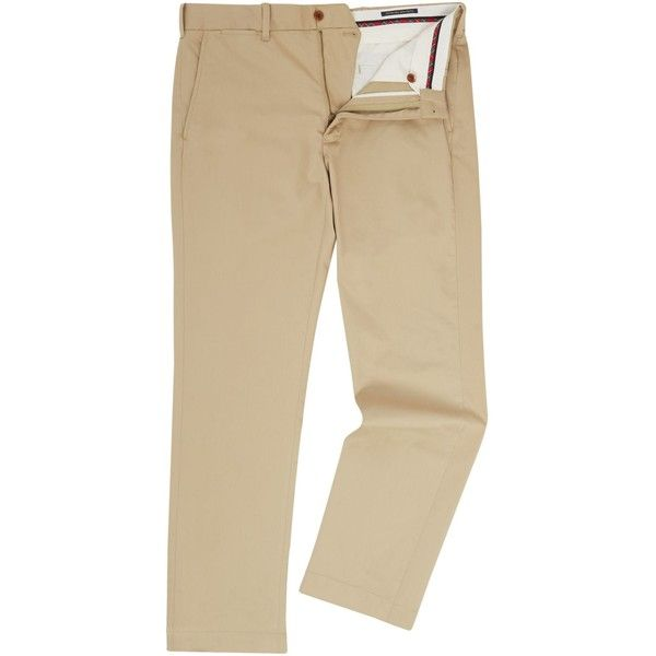 Polo Ralph Lauren Golf Stretch Chino ($155) ❤ liked on Polyvore featuring men's fashion, men's clothing, men's pants, men's casual pants, men trousers, mens zip off pants, mens chino pants, mens chinos pants, mens stretch pants and mens zipper pants