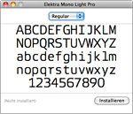 Neue Schriftarten bei OS installieren