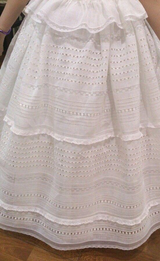 Falda enaguas de Izar. Www.didalonline.com