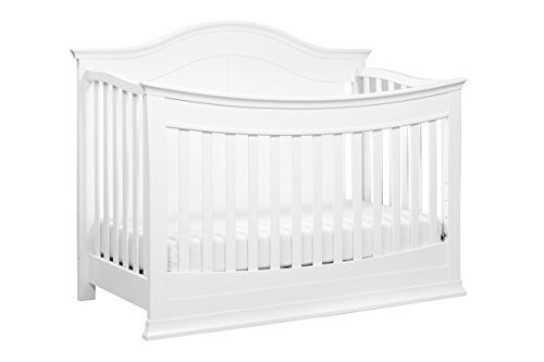 DaVinci Meadow 4-in-1 Convertible Crib with Toddler Bed Conversion Kit White