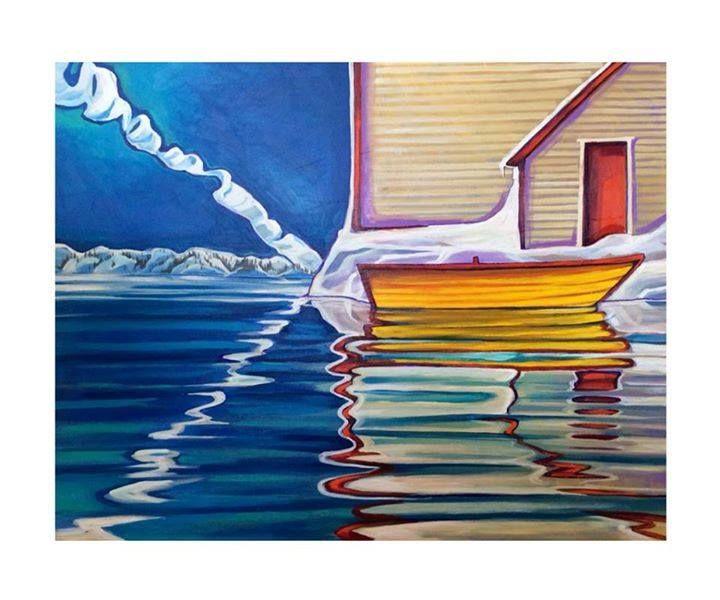 31 Best Newfoundland Art Images On Pinterest