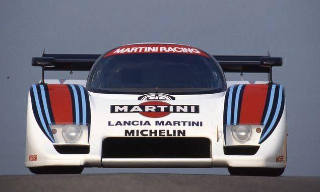 LANCIA  LC2. Ferrari V6 Double Turbo Powered... MARTINI RACING TEAM