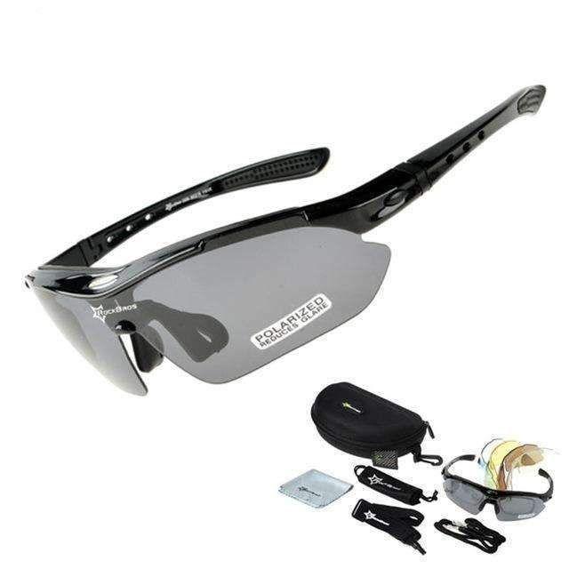 Hot Bros Polarized Radfahren Sonnenbrille Outdoor Sports