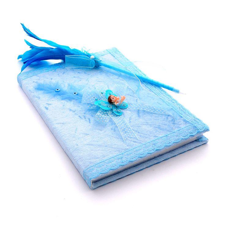 Bebek :: Bebek Anı Defteri :: Bebek Anı Defteri Ve Kalemi ( Mavi )