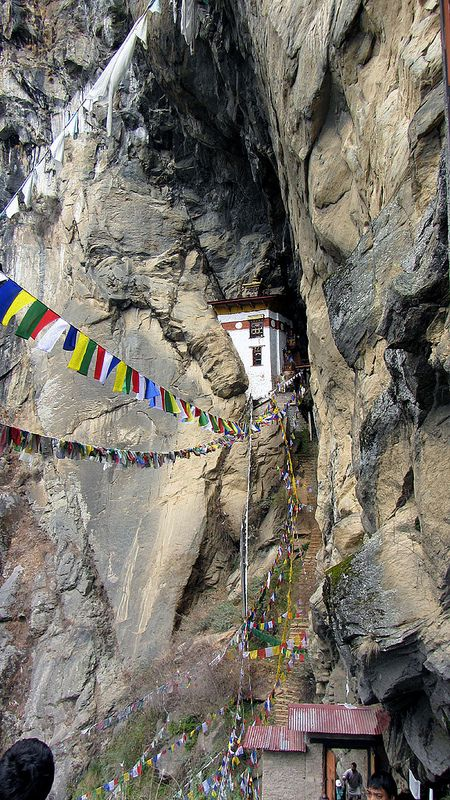 Yeshe Tsogyal's cave. It was good sitting here in contemplation