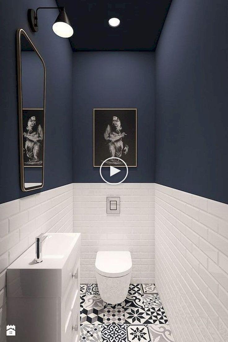 93 Coole Schwarz Weiss Badezimmer Design Ideen Oneonroom