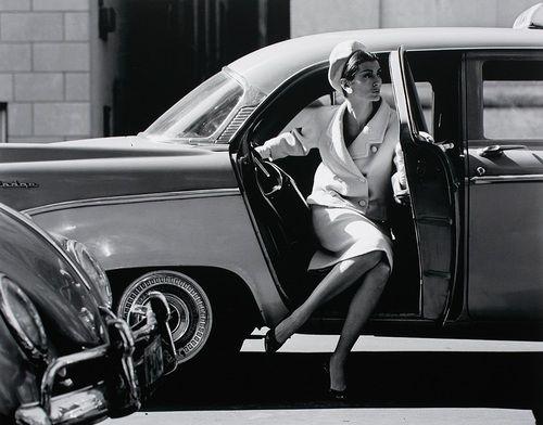 JERRY SCHATZBERG Carmen Dell'Orefice, NYC, 1958