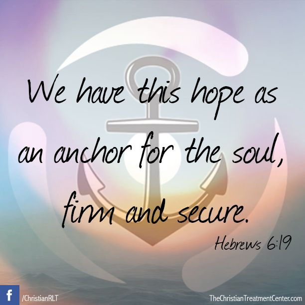 #Inspiration #Quotes #Scripture #Anchor