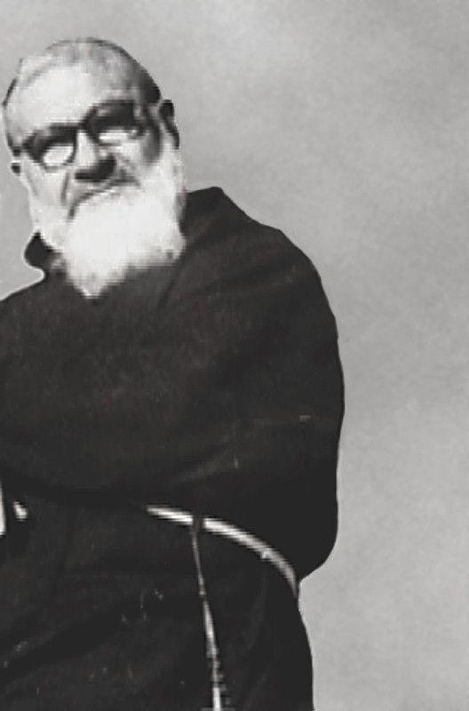 Padre Guglielmo Bucci da San Giovanni Rotondo (1886-1970), compagno di studio di Padre Pio a Serracapriola