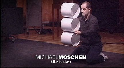Michael Moschen juggles rhythm and motion | Video on TED.com