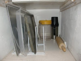storage solutions for a deep pantry: Storage Solutions, Organizations Ideas, Pantries Organizations, Organizational Ideas, Older Pantries, Deep Pantries