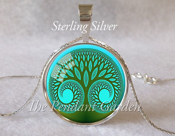 70 best scripture jewelry images on pinterest scriptures bible items similar to tree of life sterling silver pendant blue spiritual jewelry tree pendant inspirational jewelry yoga necklace yoga gift meditation pendant mozeypictures Choice Image