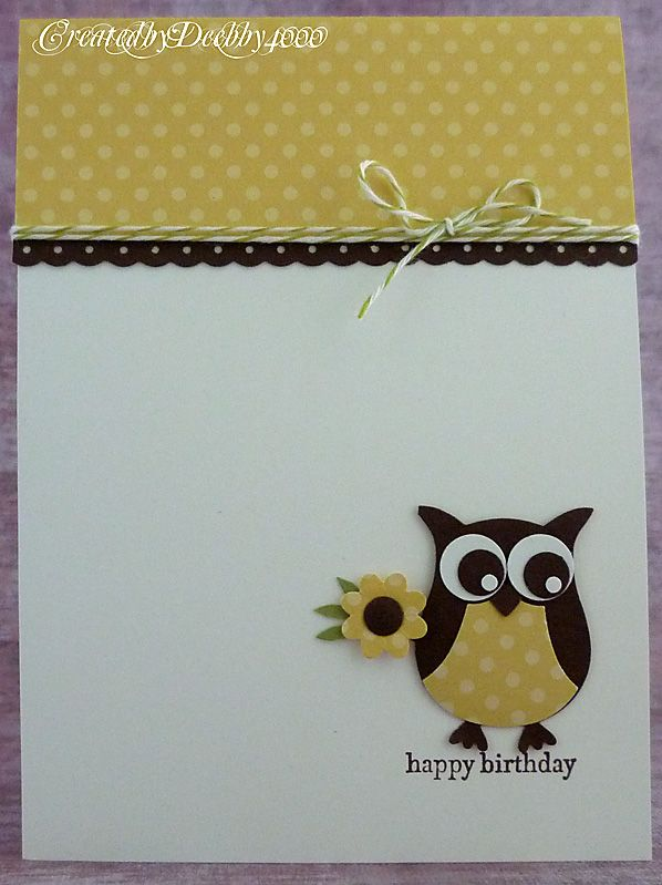 owl punch, A Scrapjourney: Stampin up