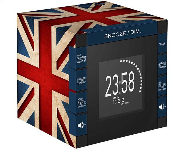 bigben radio-réveil RR70 avec projection Great Britain