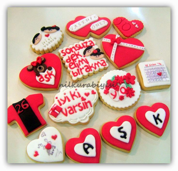 Nil Kurabiyesi - Tekirdağ Butik Kurabiye: Sevgiliye kurabiyeler..