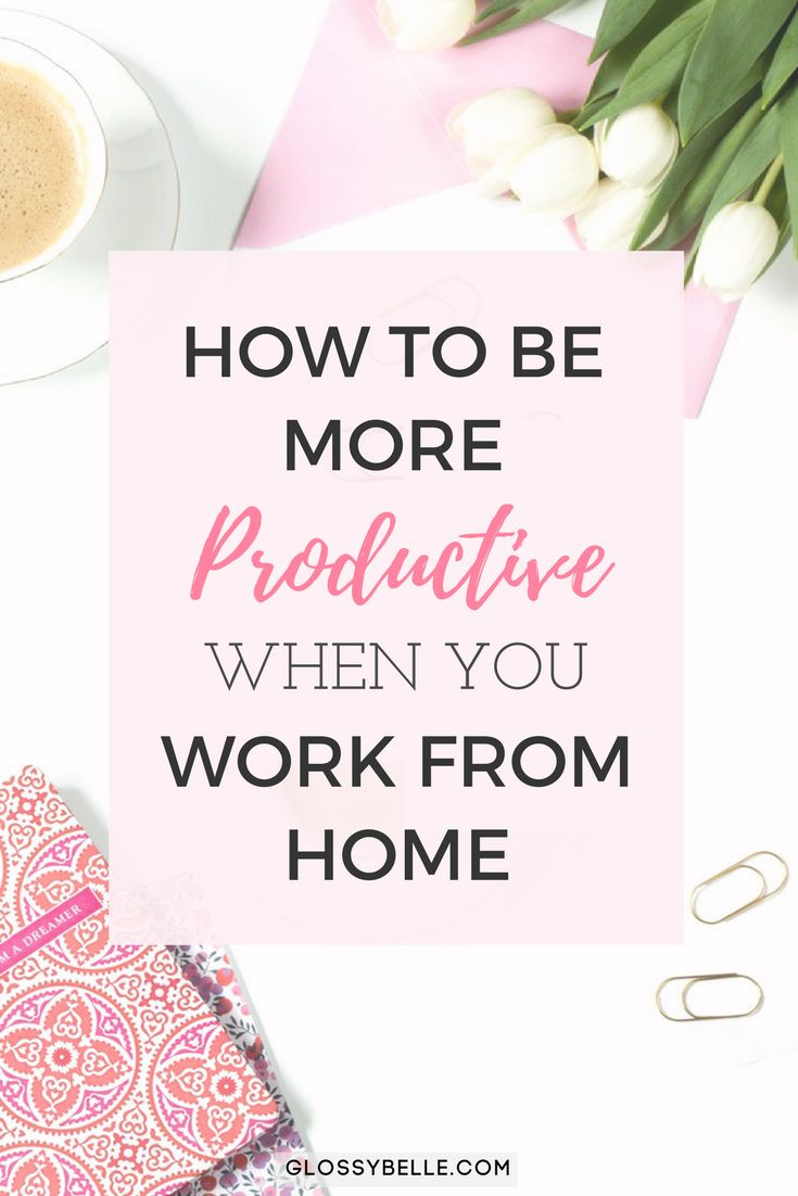 If you work from home and find that you're unfocused and often get distracted, learn about the methods I've used to successfully be more productive with my time, skyrocket my efficiency rate, and get more done in this post. productivity | motivation | stay at home mom | work at home mom | girl boss | girlboss | entrepreneur | focus | efficiency | time block | time blocking