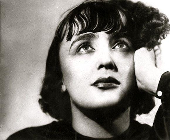 Edith Piaf, publicité disques Polydor, c1935