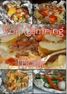 Foil meals are the height of easy on a camping trip! Easy clean up and very yummy!