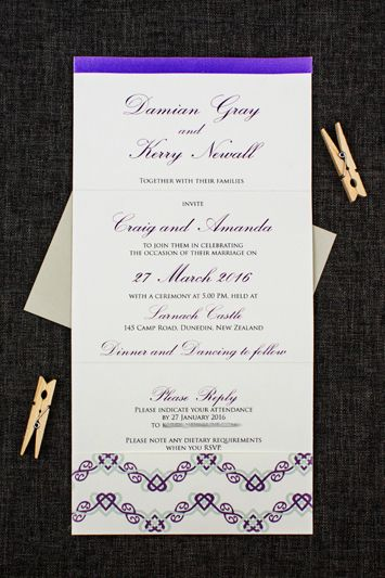 Celtic Wedding Invitation
