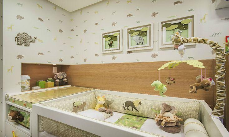 O tema Safari é o queridinho das mamães de meninos e meninas para a decoração do quarto do bebê. Quartos temáticos estão sempre em alta! Kit Berço Safari!
